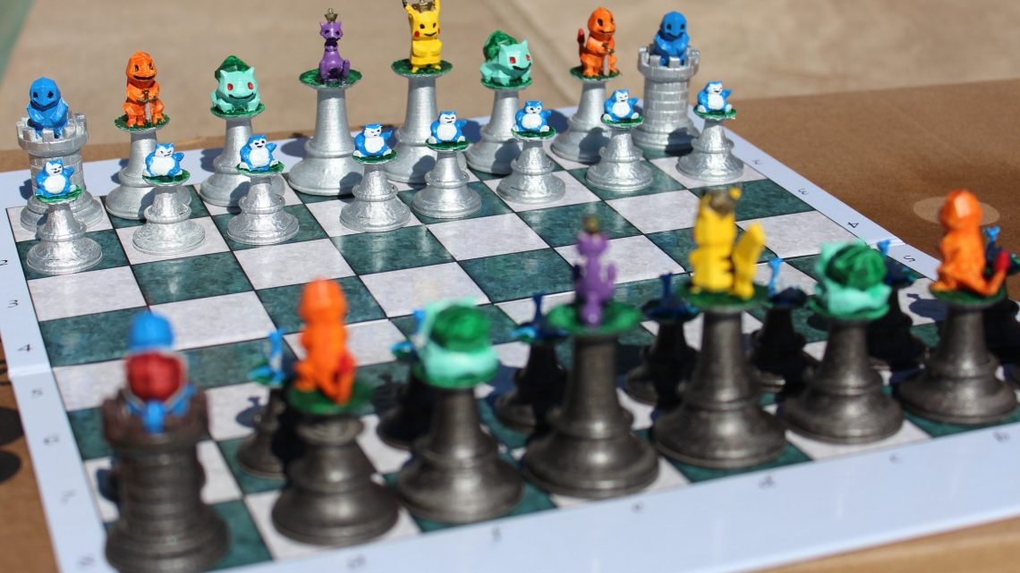 Pokemon Chess set