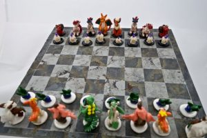 cool-Pokemon-chess-set-Fire-VS-Grass-