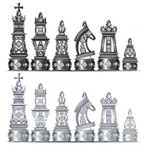 diamond chess figures