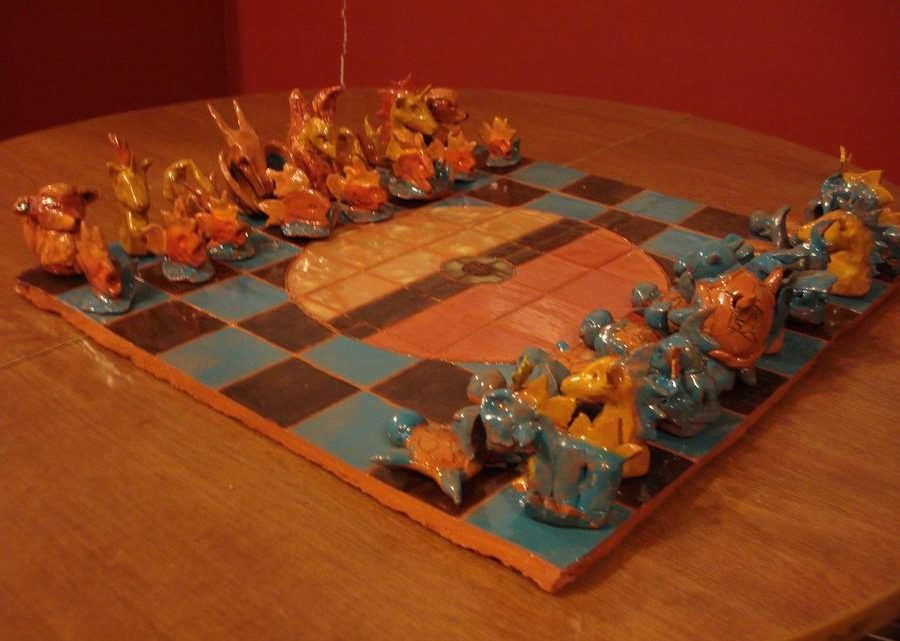 pokemon chess board