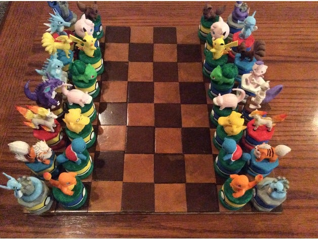 pokemon chess set colour 2