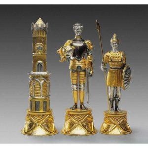 carolingi xiv chess figures