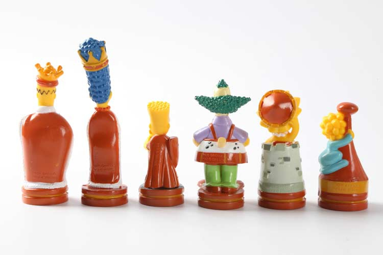 the simpsons chess set 2