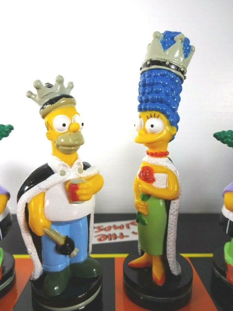 the simpsons queend and king