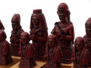 Vintage Egyptian Chess figures