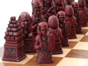 Vintage Egyptian Chess pieces