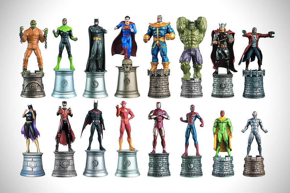 batman marvel vs dc chess pieces3