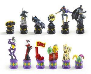 batman vs joker chess pieces