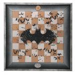 dc batman chess board