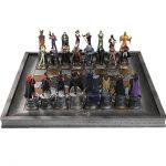 dc batman chess set