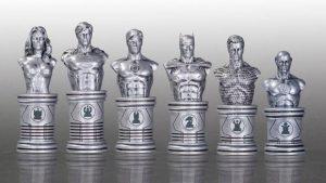 justice league batman chess pieces