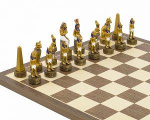 royal egyptian chess figures