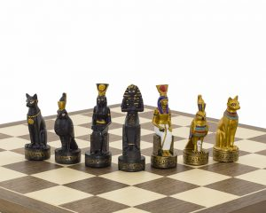 royal egyptian chess pieces