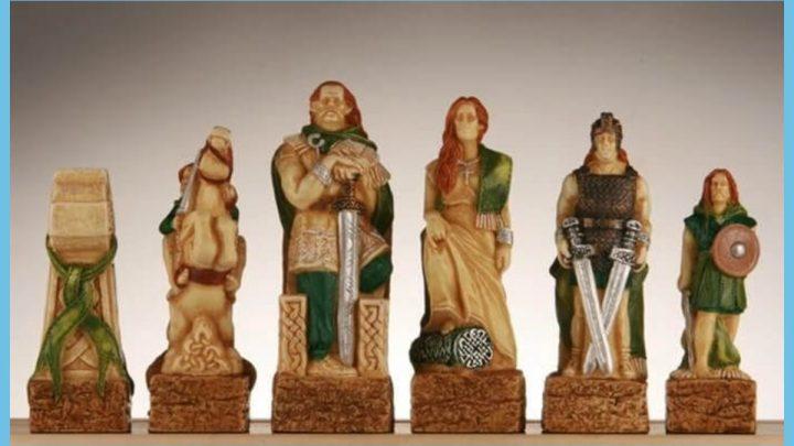Vikings vs Celts Norse Chess Set