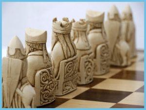 Isle of Lewis chess board