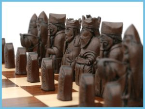 Isle of Lewis polystone chess pieces5