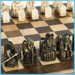 Lewis Chessman – Bone Norse chess Set