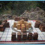 wooden marble hnefatafl set1