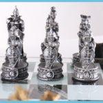 16″ Pewter & Glass 3D Coliseum Roman Chess Pewter & Glass 3D Coliseum Roman Chess Set