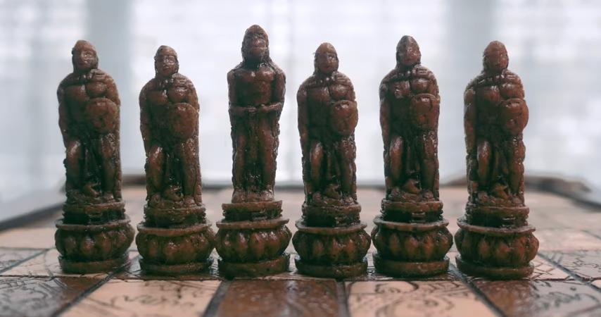 Aztec_Mayan Themed Chess Set