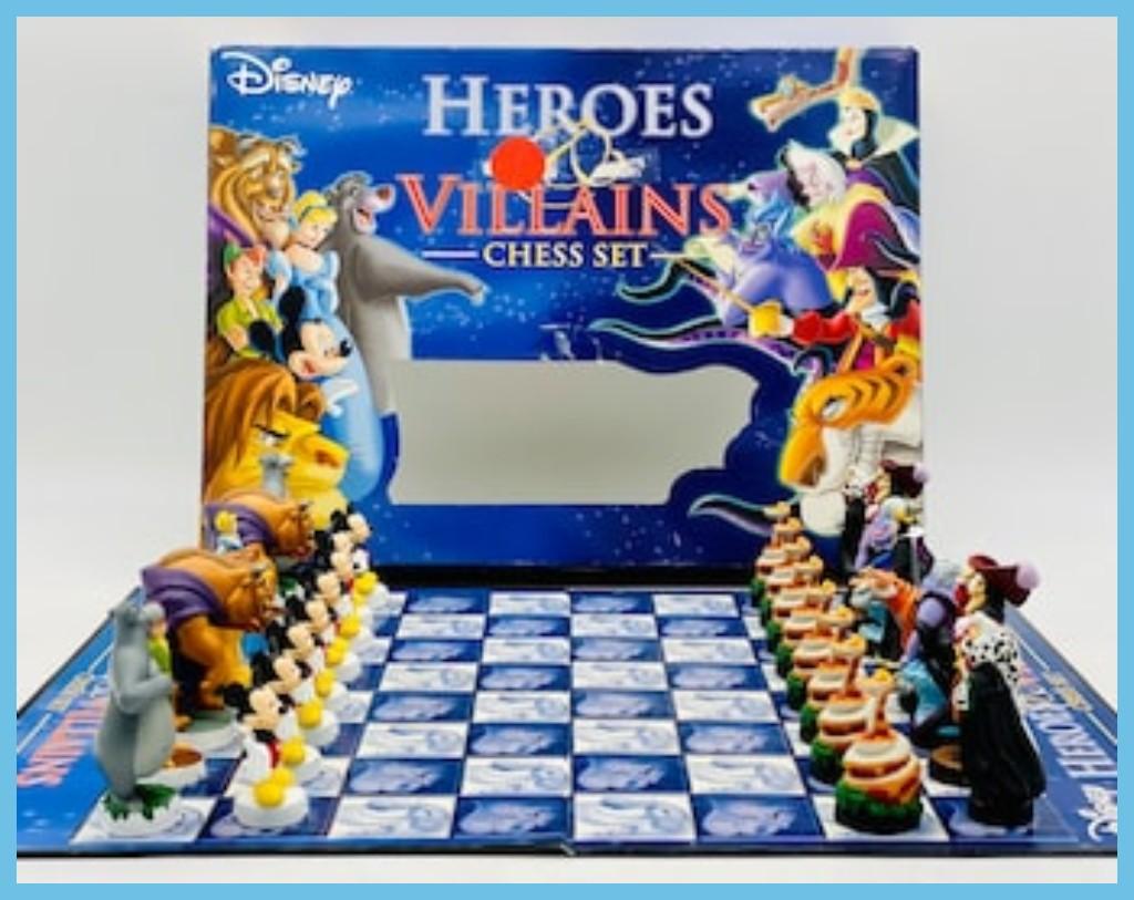 Disney Heroes & Villains Chess Set