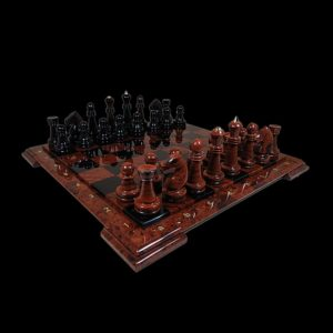 Obsidian Chess Set