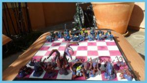 Handmade Starcracft Chess set